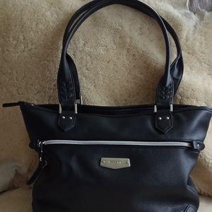 Women's Black Rossetti purse.